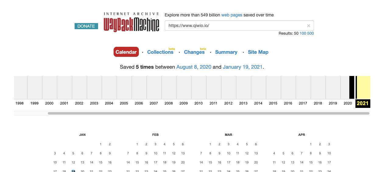 Wisernotify domain activity history