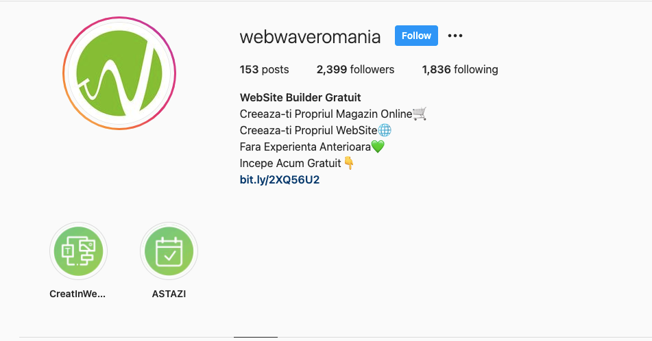 Wisernotify instagram