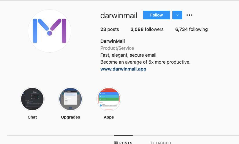DarwinMail IG