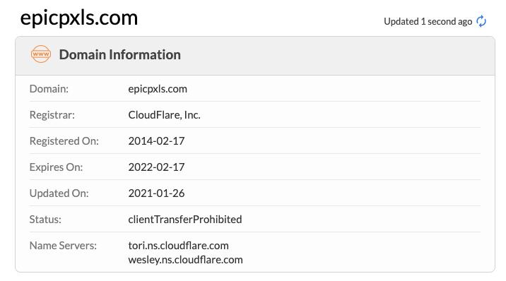 EpicPxls Domain Info