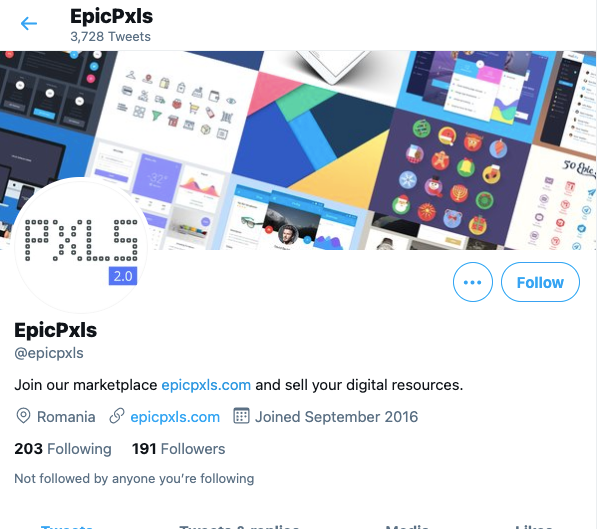 EpicPxls Twitter