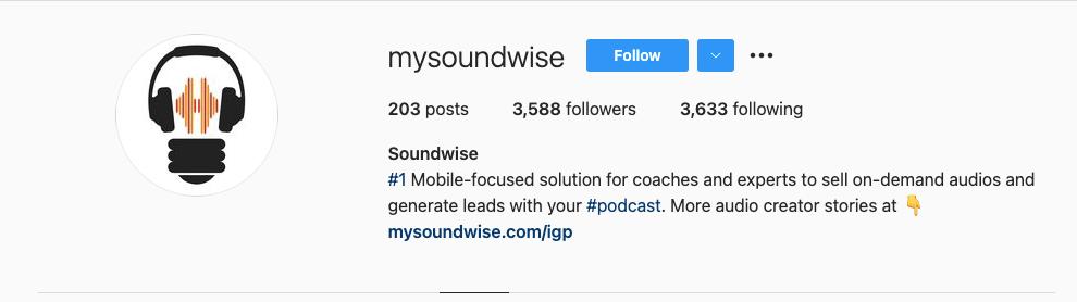 Soundwise IG