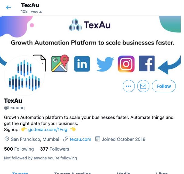 Texau Twitter