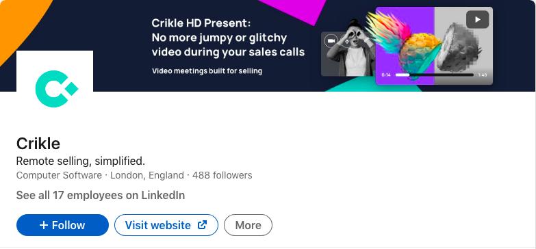 Crikle LinkedIn