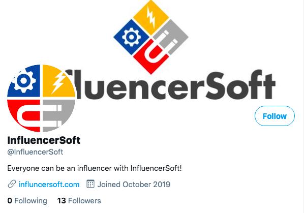 influencersoft twitter