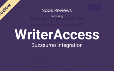 Write Better Content With The BuzzSumo Integration on WriterAccess!
